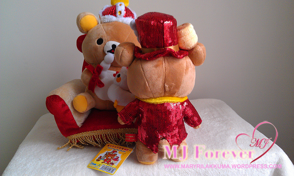 Rilakkuma 10th Anniversary Red Sparkly Tuxedo Series