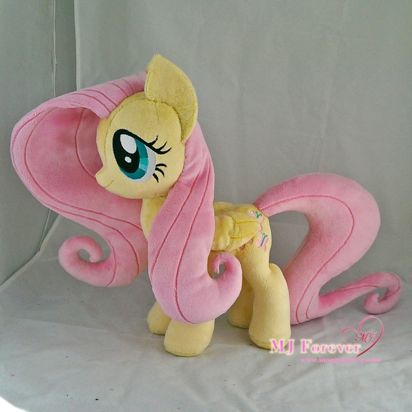 Fluttershy plushie sewn by meee!!!