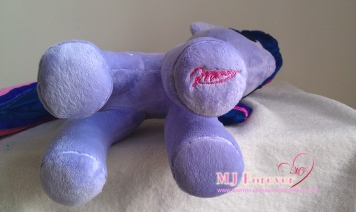 Twilight Sparkle plushie made by meeeee!!!!!!