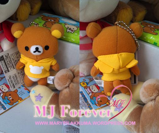Miniature Hoodie Rilakkuma!  Free gift!