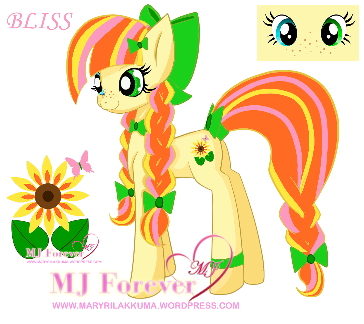 My earth pony OC - BLISS