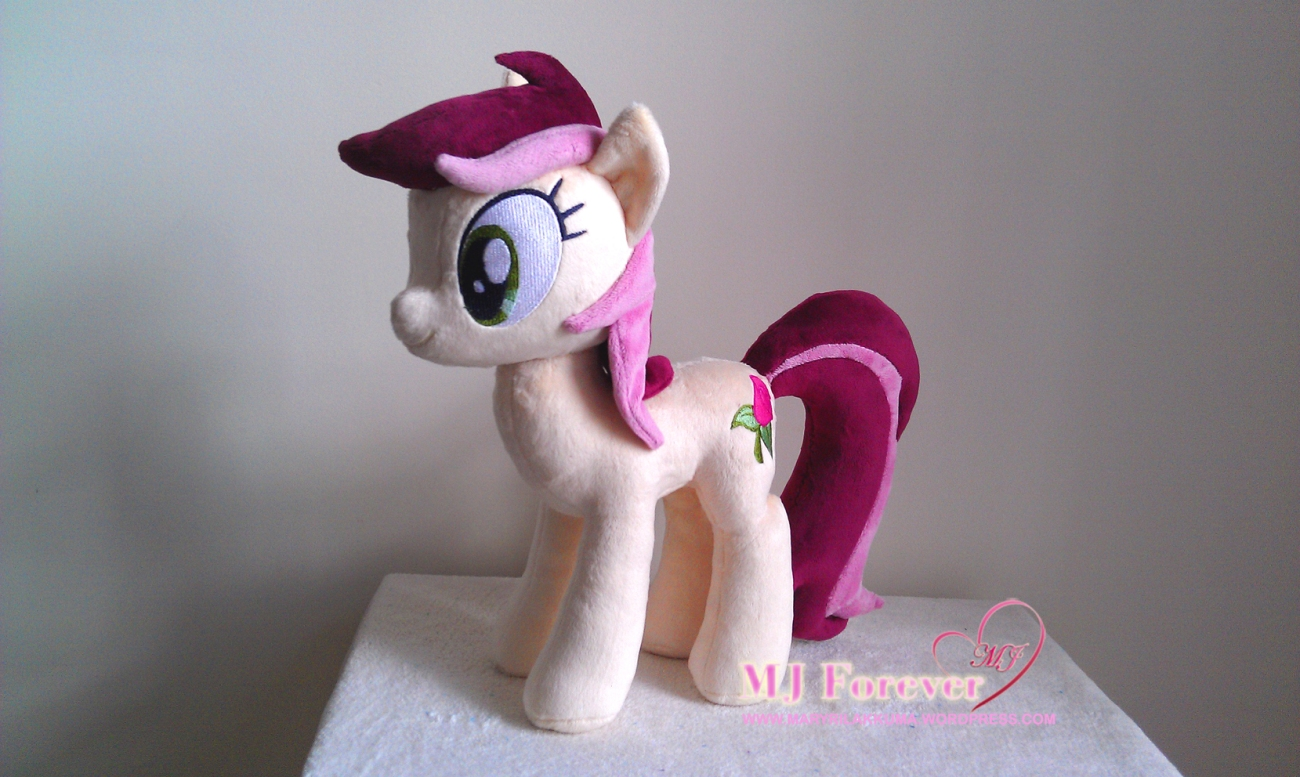 Roseluck plushie by GreenTeaPlushies