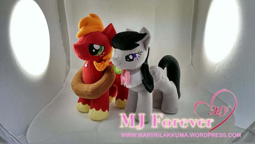 Octavia and Big Mac plushie by Vegeto-UchihaPortgas