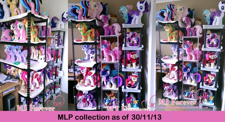 MLP collection as of 30/11/13