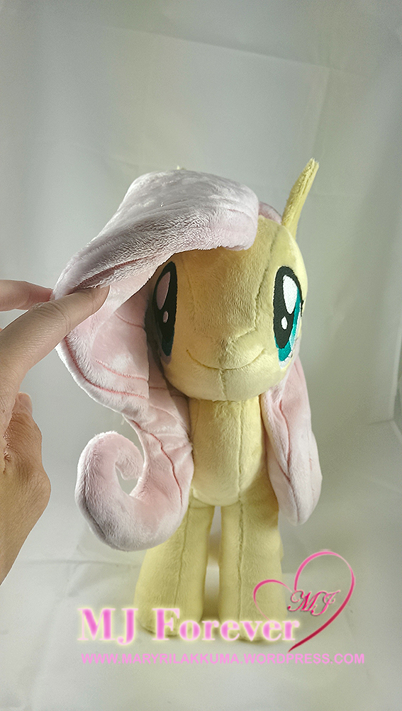 Fluttershy plushie by me!!! (a commission)
