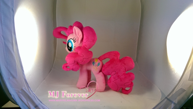 Pinkie Pie plushie (for sale) by meeeee!!!!