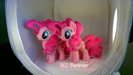 Pinkie Pie Plushies x2 by meeee!!!!