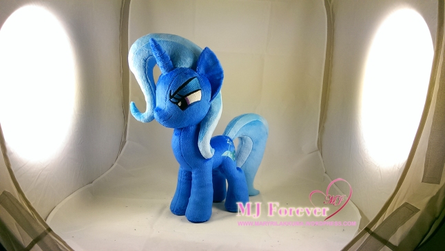 Trixie plushie sewn by meee!!!!