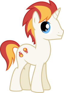 Eclipse Flare: OC stallion I adopted