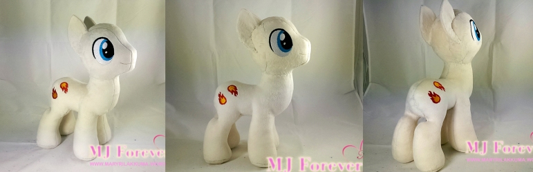 My mystery stallion plushie! WIP! :)