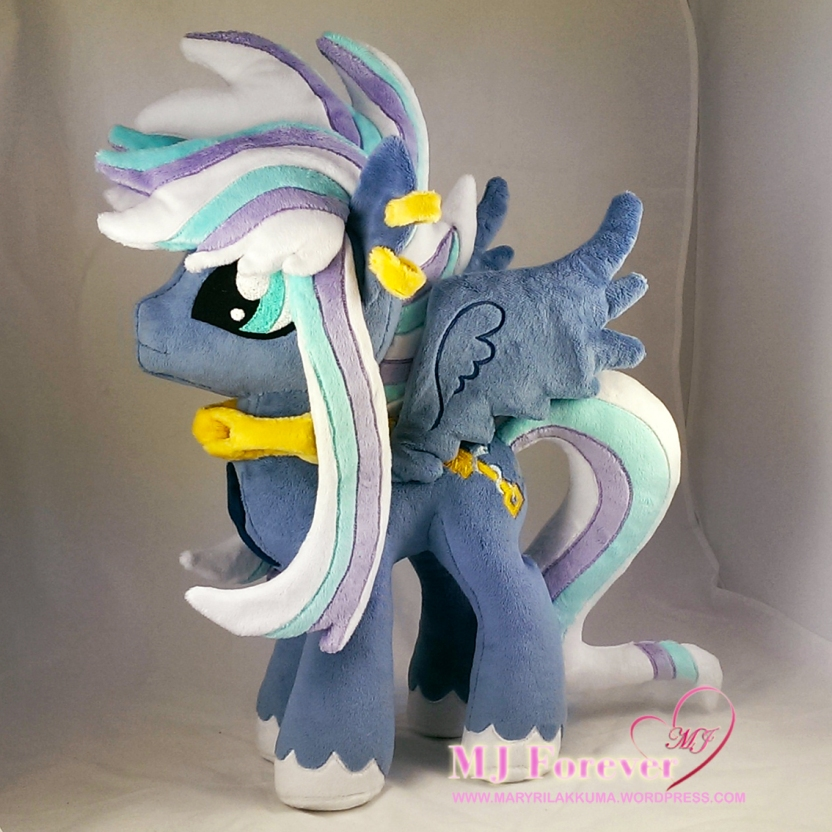 Dusk (my stallion OC) plushified by Little-Broy-Peep