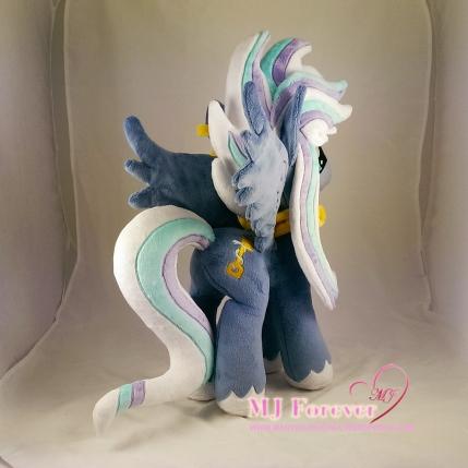 Dusk (my stallion OC) plushified by Little-Broy-Peep