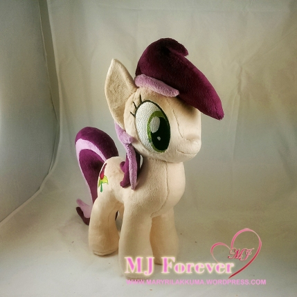 Roseluck plushie sewn by meee!!!!