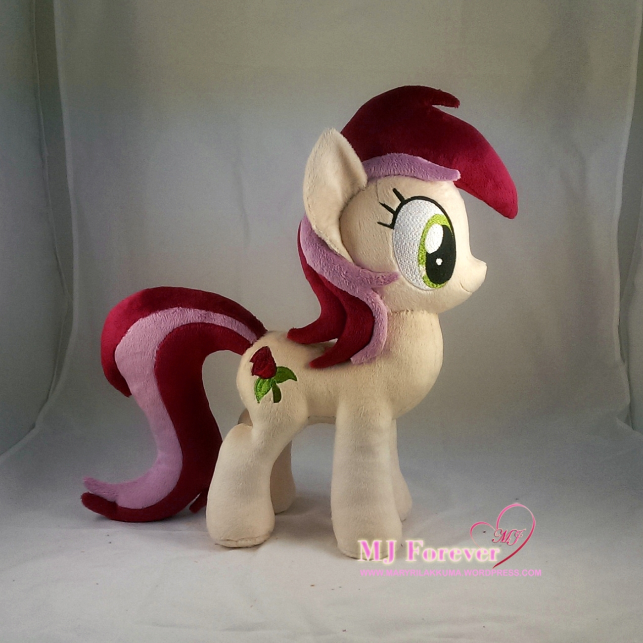 Roseluck #2 plushie by me!  :)