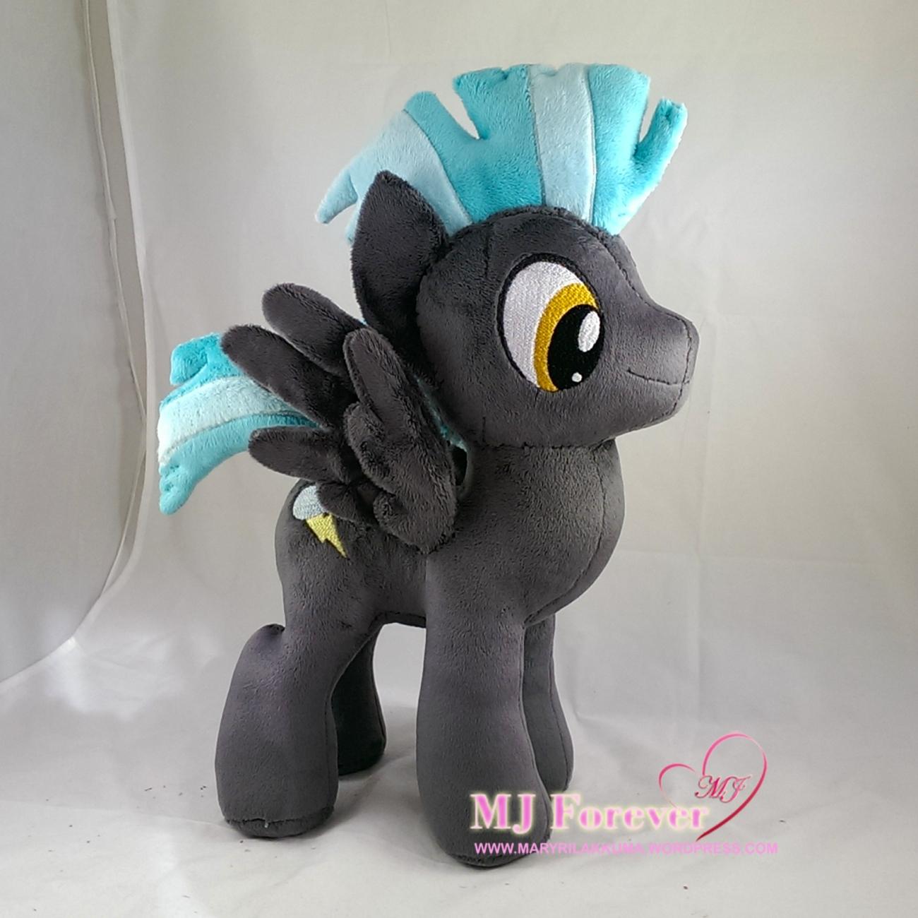 Thunderlane plushie by meeee!!!!