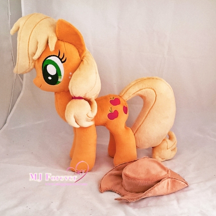 Applejack plushie sewn by meeee!!!!