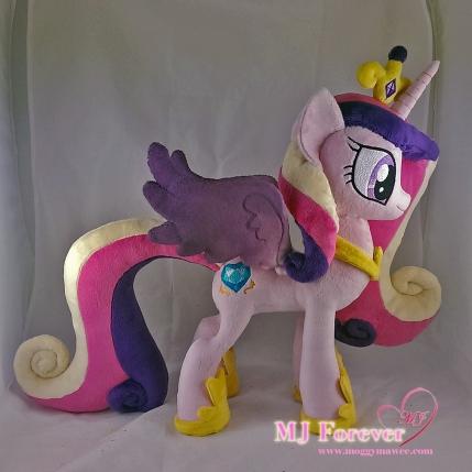 Princess Cadence plushie sewn by meee!!!!!