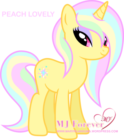 Peach Lovely. Drawn by Disfiguredstick