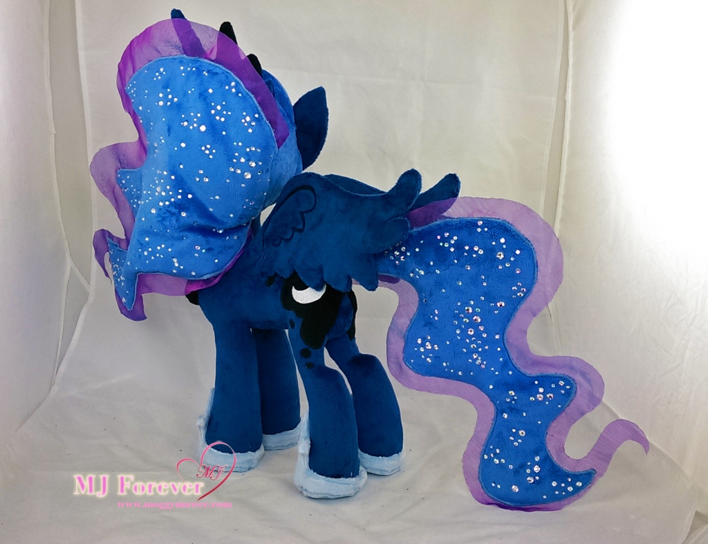 Princess Luna plushie v2.0 by meeee!!!!!