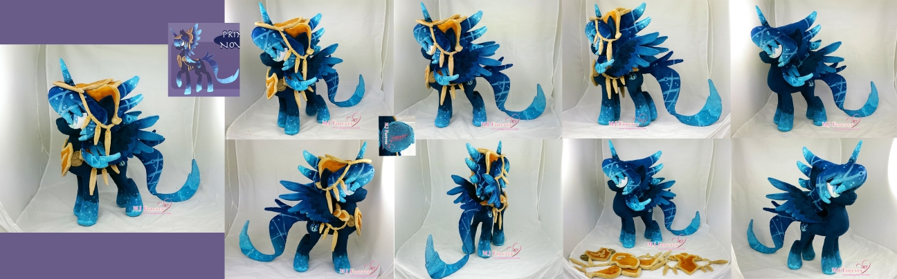 Novalis Plushie (with removable armour)