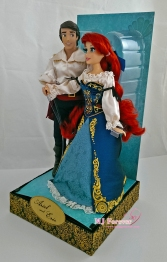 Limited Ariel and Eric DFDC dolls (2nd set, deboxed)
