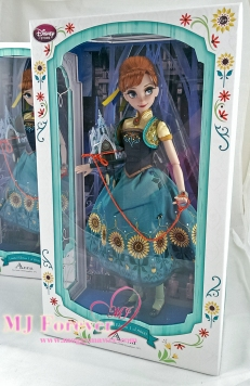 "My second 17"" Anna Frozen Fever Limited Edition doll. LE 5000"