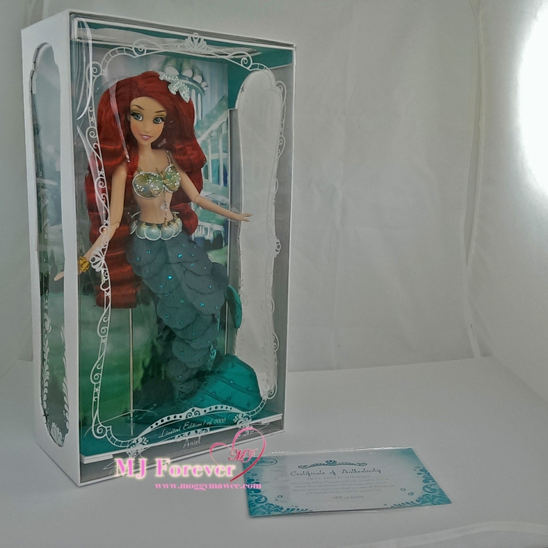 "Limited Edition 17"" Ariel Doll"