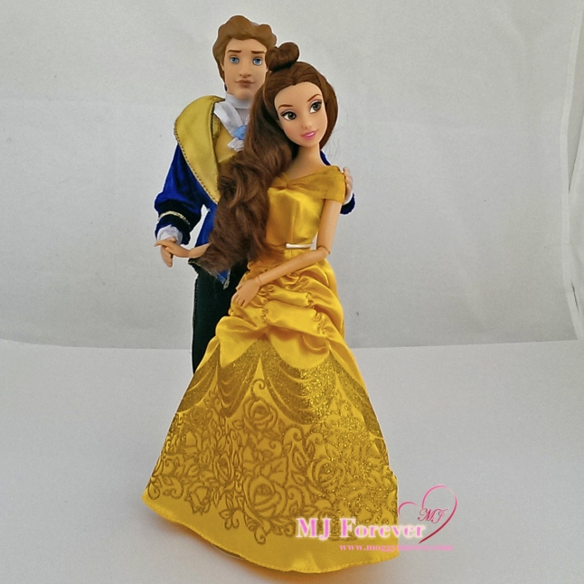 Belle and Prince Adam (Beast) - classic dolls