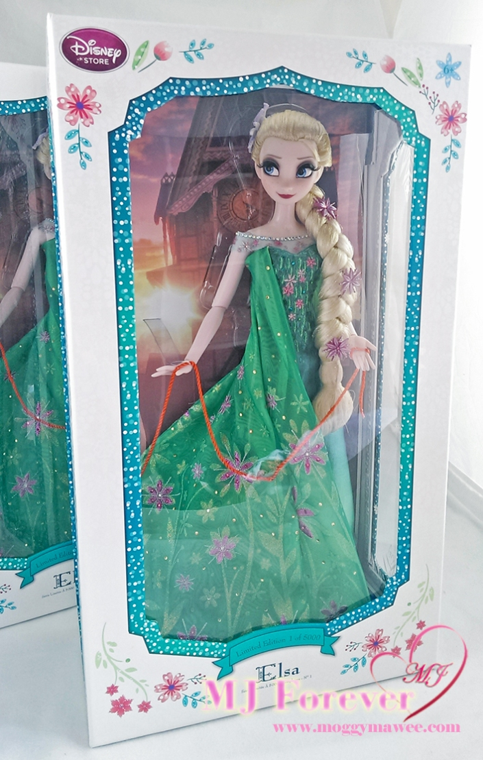 "My second 17"" Elsa Frozen Fever Limited Edition doll. LE 5000"