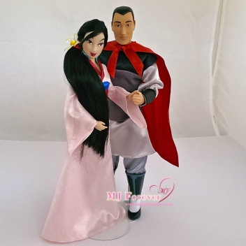 Mulan and Li Shang - classic dolls