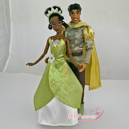 Tiana and Prince Naveen - classic dolls