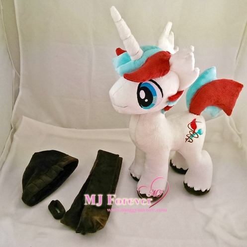 Quickstitch plushie (commission) sewn by me!!!!