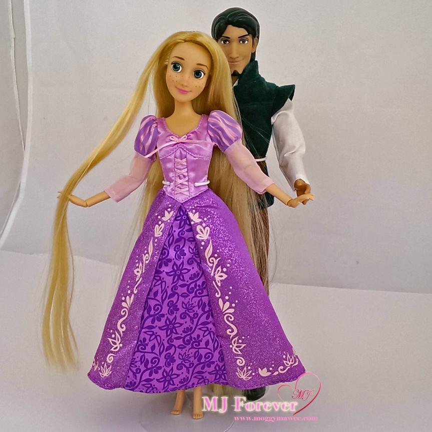 Rapunzel and Flynn ie Eugene - classic dolls