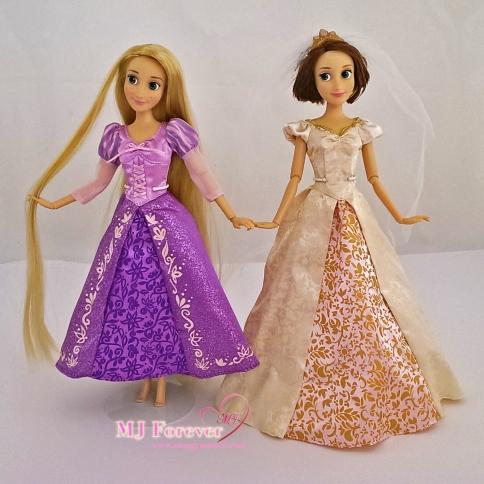 Rapunzels - classic dolls