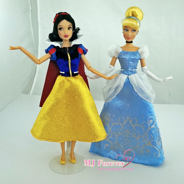 Snow white and Cinderella - classic dolls