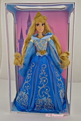 "Limited Edition 17"" Princess Aurora Doll in Blue Dress (limit to 4000)"