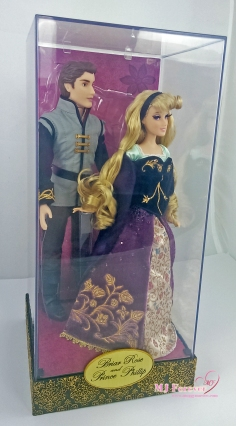 Limited Disney Fairytale Designer Collection - Briar Rose & Prince Phillip dolls