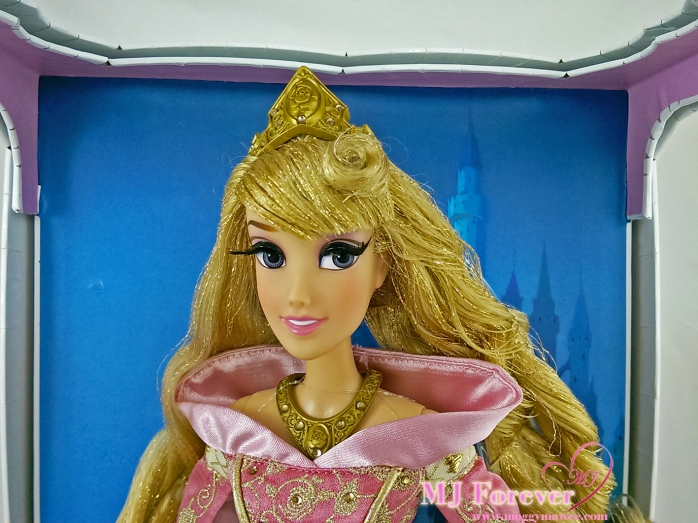 "17"" Limited Edition Aurora Doll in Pink dress"