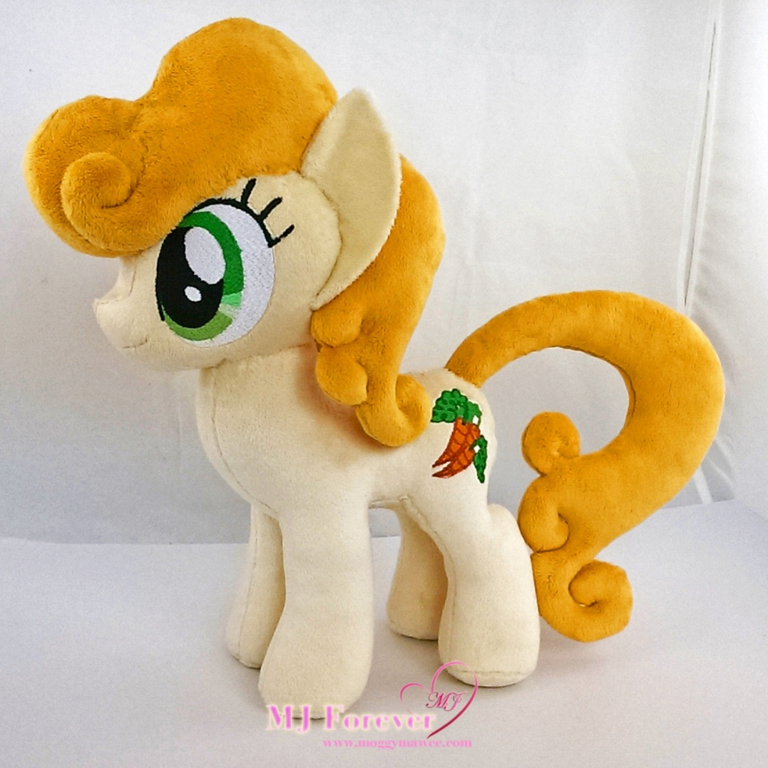 Carrot Top/Golden Harvest plushie sewn by meeee!!!!!