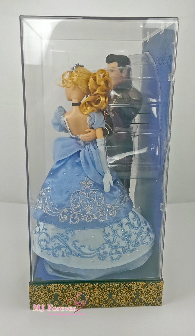 Disney Fairytale Designer Collection - Cinderella & Prince Charming dolls