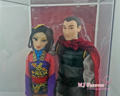 Limited Disney Fairytale Designer Collection - Mulan & Li Shang dolls