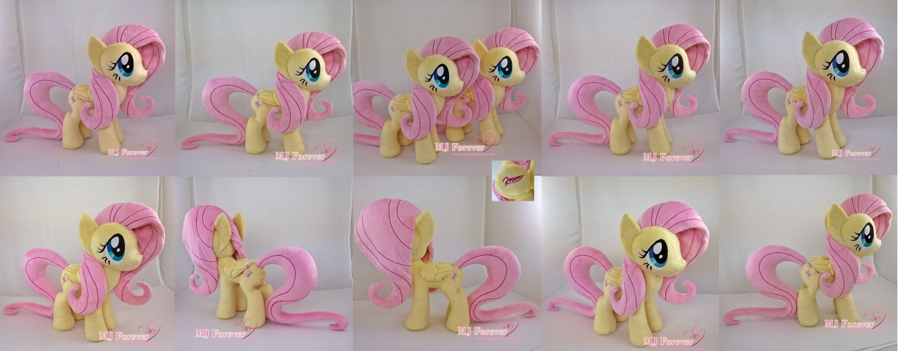 Fluttershy plushies sewn by meee!!!!!