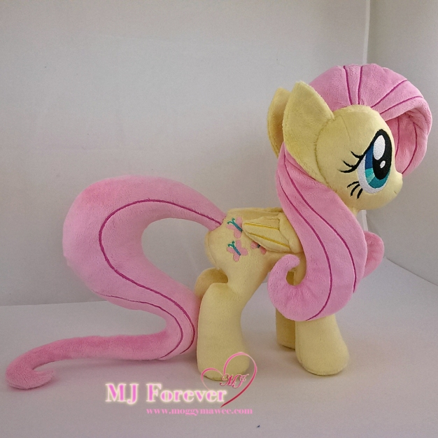 Fluttershy plushie #1 sewn by meeee!!!!!