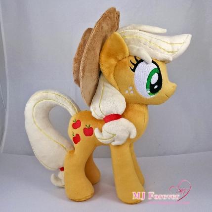 Applejack plushie sewn by meee!!!!