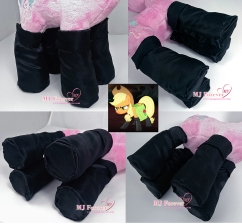 Applejack boots sewn by mee!!! (commission)