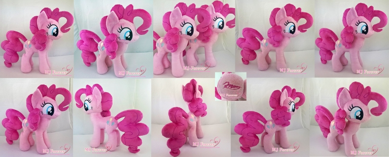 Pinkie Pie plushies sewn by meee!!!!