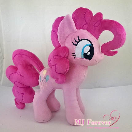 Pinkie Pie plushies sewn by meeee!!!!!!!