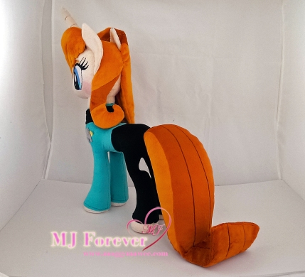 Beverly Crusher pony plushie commission sewn by meeee!!!!!!!!