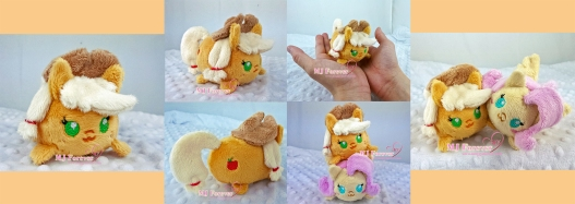 Tsum Applejack sewn by meeee!!!!