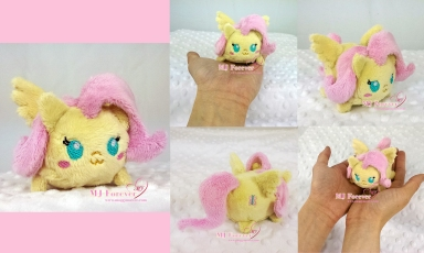 Tsum Fluttershy sewn by meeee!!!!